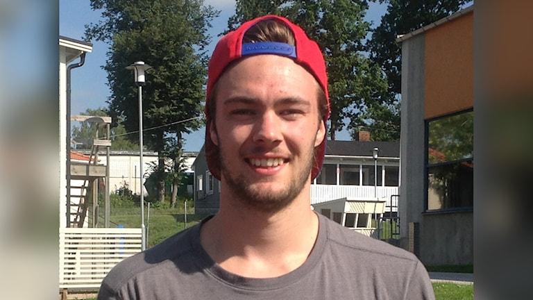 Ludvig Engsund. Foto: Göran Svenson/IK Oskarshamn