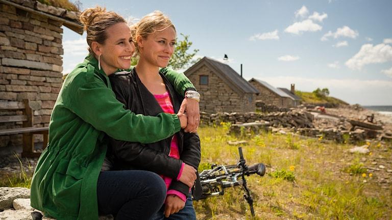 Bild från en Inga Lindström-film. Foto: ZDF/Arvid Uhlig