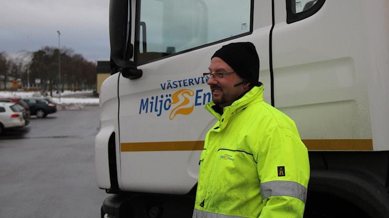 Magnus Petersson, Västervik Miljö och Energi.
