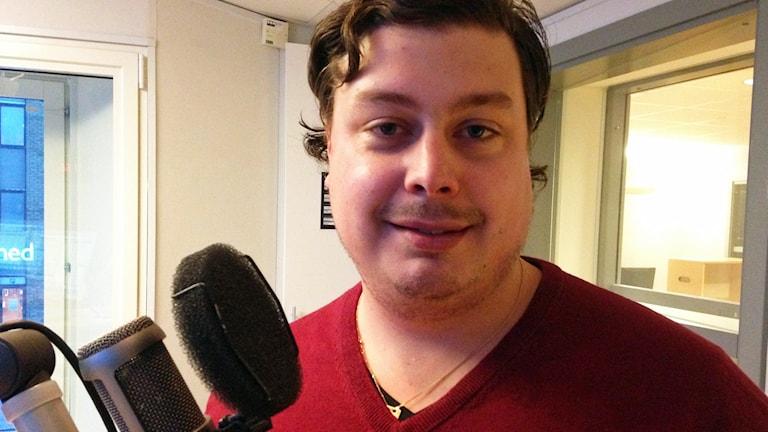 Patrik Långberg. Foto: Magnus Krusell/Sveriges Radio