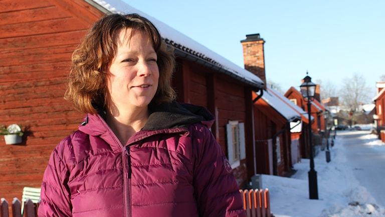 Pernilla Emilsson. Foto: Johanna Lindblad Ahl/Sveriges Radio