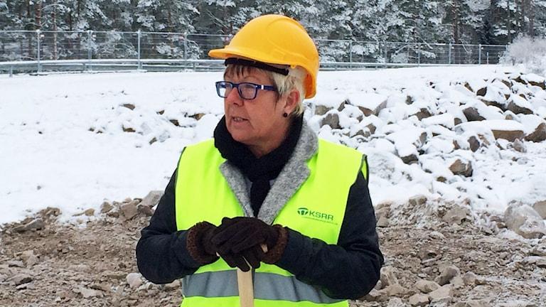 KSRR:s vice ordförande Yvonne Bergvall.