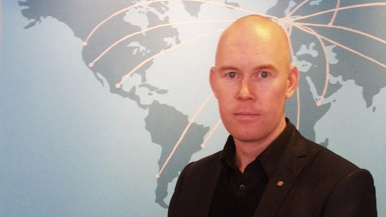 Mattias Mild. Foto: David Baujard/Sveriges Radio.