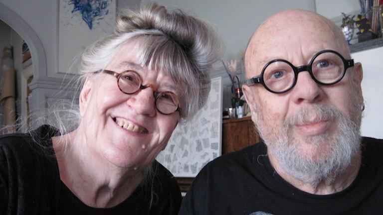 Gunilla Skyttla och Raine Navin. Foto: Erika Norberg/Sveriges Radio