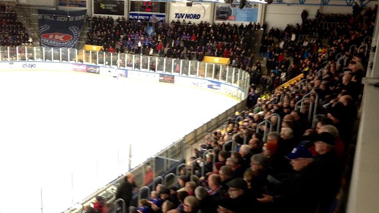 Ishockeypublik i Oskarshamn