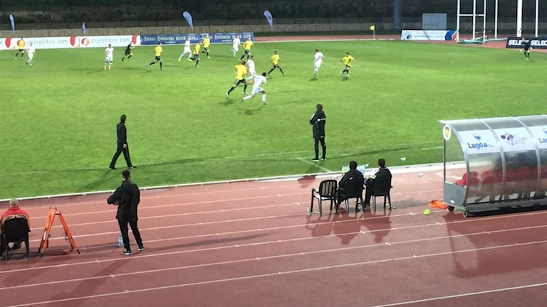 Kalmar åkte på tredje raka förlusten i Portugal. Bröndby vann med 2-1. Foto: Micael Frost / Privat