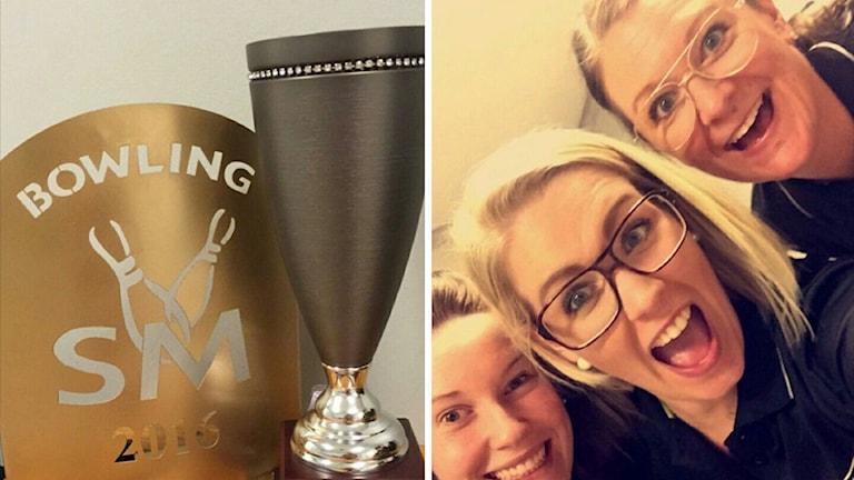 Cahoots SM-vinnare i tremannalag: Jenny Johansson, Frida Löhnert och Ulrika Engberg.