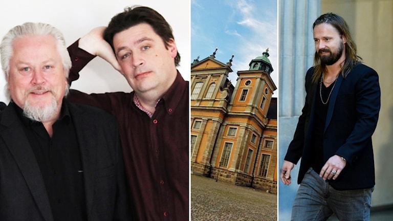 Lennart Palm, Magnus Krusell och Max Martin.