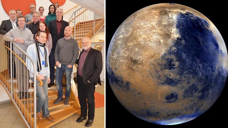 Forskare och planeten Mars