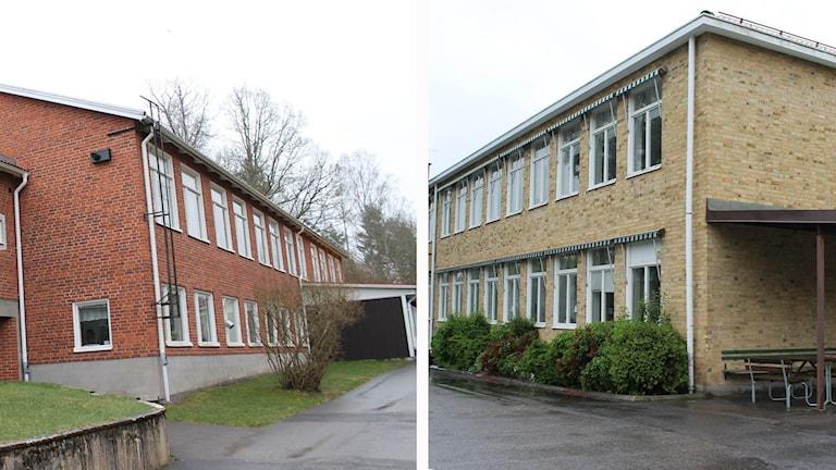 Djursdala och Brännebro skolor.