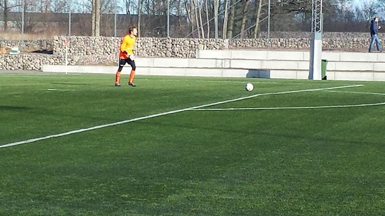 Lucas Hägg-Johansson gjorde målvaktsdebut i en tävlingsmatch och var så när att hålla nollan. 3-1 till Kalmar FF mot Assyriska.