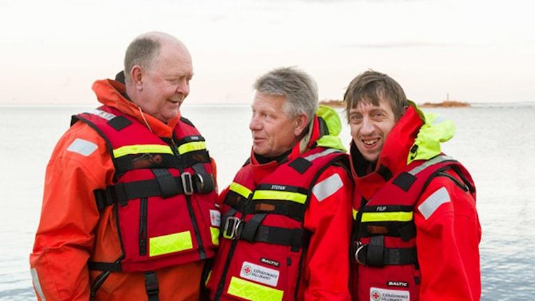Gunnar Gustafsson, Stefan Ohlsson och Filip Harryson