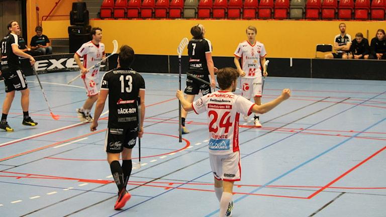 Kalmarsund förlorade hemma mot Jönköping i sista omgången med 6-4. Foto: Faton Pasho / SR