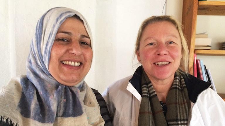 Kadja al Jasenko och Rosemarie Winkvist.
