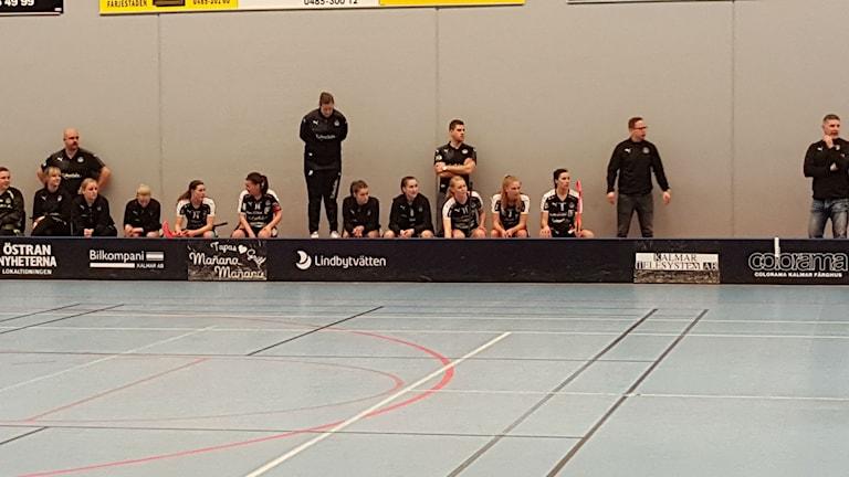 Det blev förlust för Kalmarsund i den första kvalmatchen mot Telge. Foto: Faton Pasho / SR