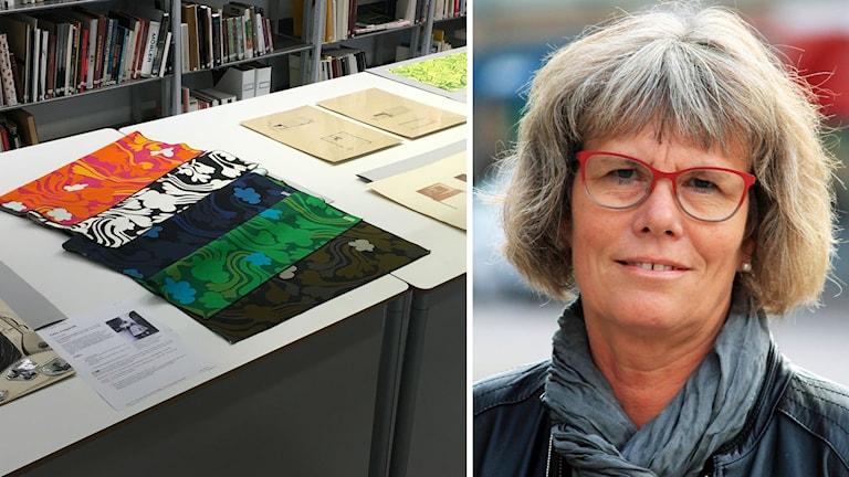 Mönster från Designarkivets samlingar och Christina Davidson.