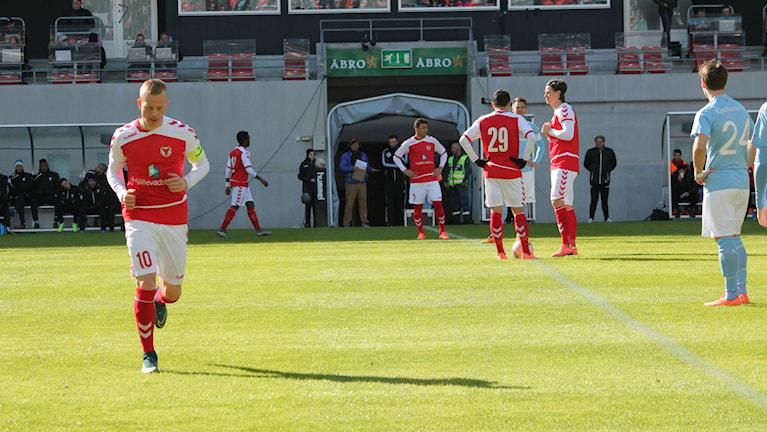Respass för Kalmar FF i semifinalen. Malmö vann med 3-1. Foto: Faton Pasho / SR