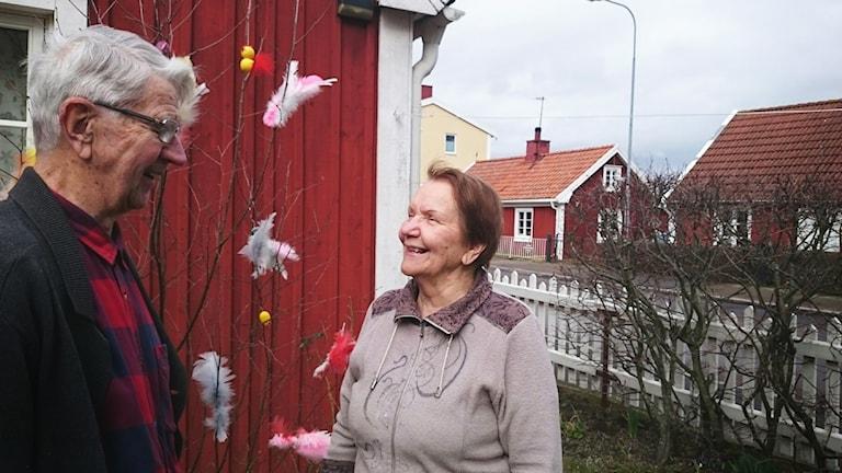 Börje Granberg och Liisa Granberg.
