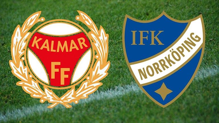 Klubbmärken Kalmar FF Norrköping