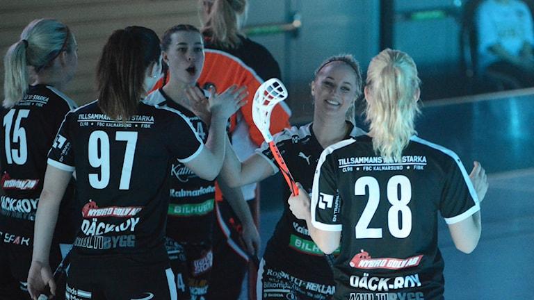 FBC Kalmarsund vann den första matchen mot Warberg med 3-2