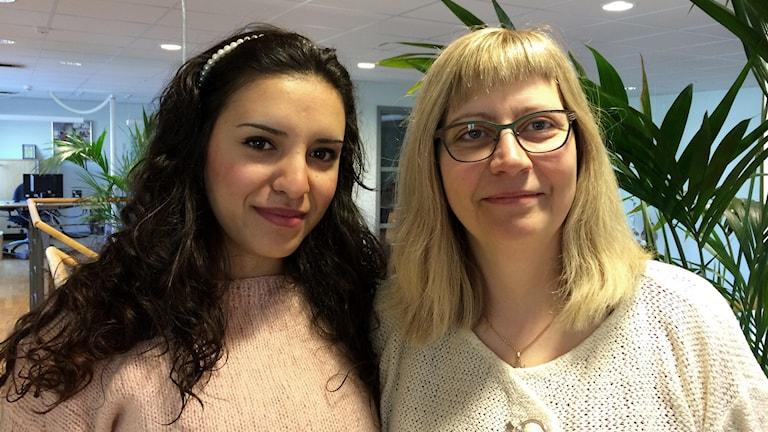 Farah Trabulsi och Åsa Cederholm