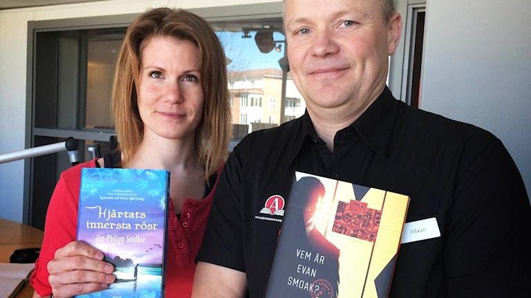 Emma Andersson och Håkan Johnsson.