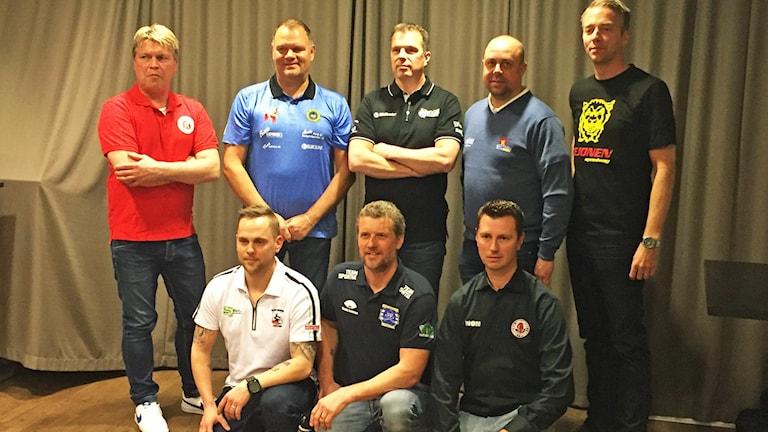 Lagledarna i elitserien i speedway 2016.