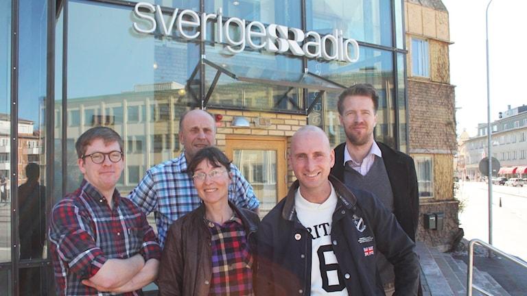 Viktor Blomberg, Bosse Nilsson, Lotta Zaar, Henrik Skeppland och Joachim Lantz