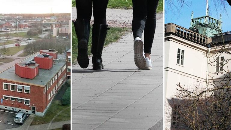 Skolbyggnader.