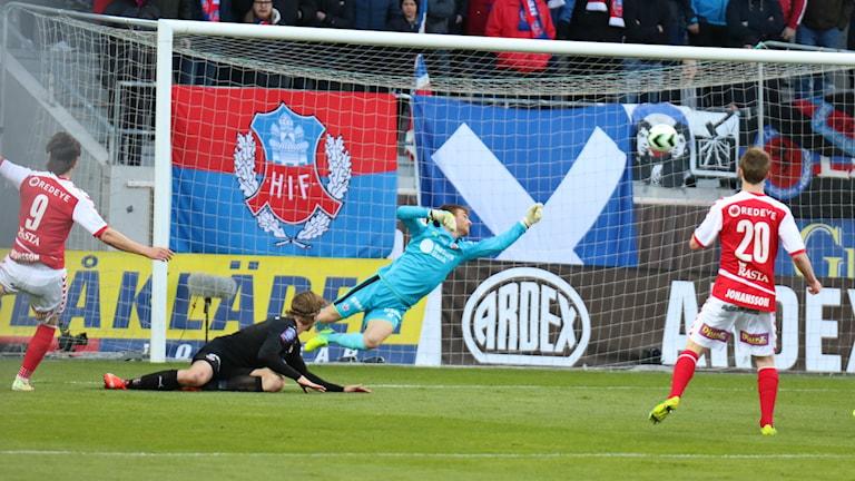 Marcus Antonsson gör 1-0 till Kalmar FF