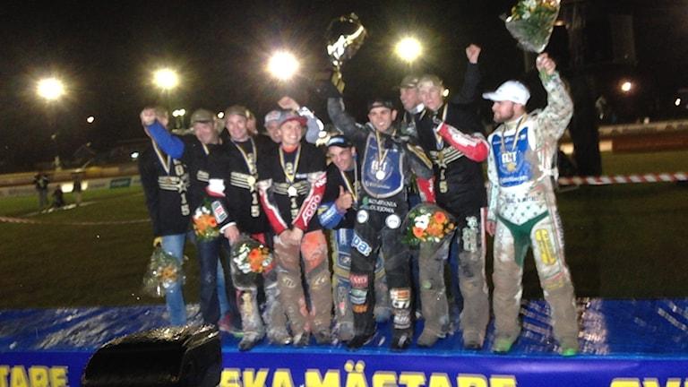 Elit Vetlanda firar SM-guldet 2016