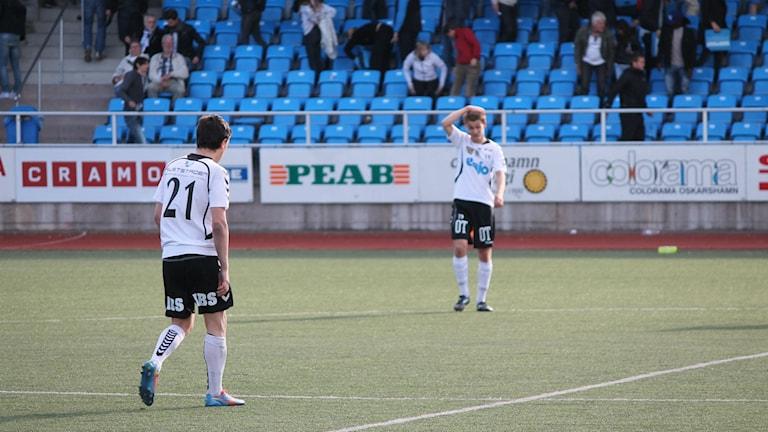 Derbyförlust för OAIK mot Öster med 3-0. Foto: Faton Pasho