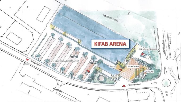 Kifab Arena.