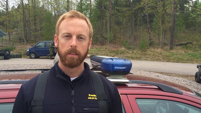 Räddningsledare Jakob Dahlquist