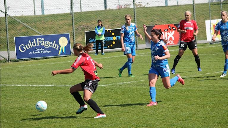 Arkivbild på IFK Kalmar.