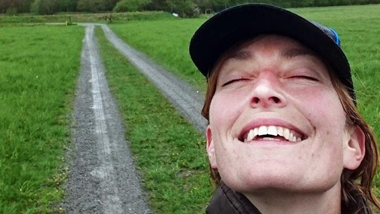 Lantbrukaren Hanna Karlsson.