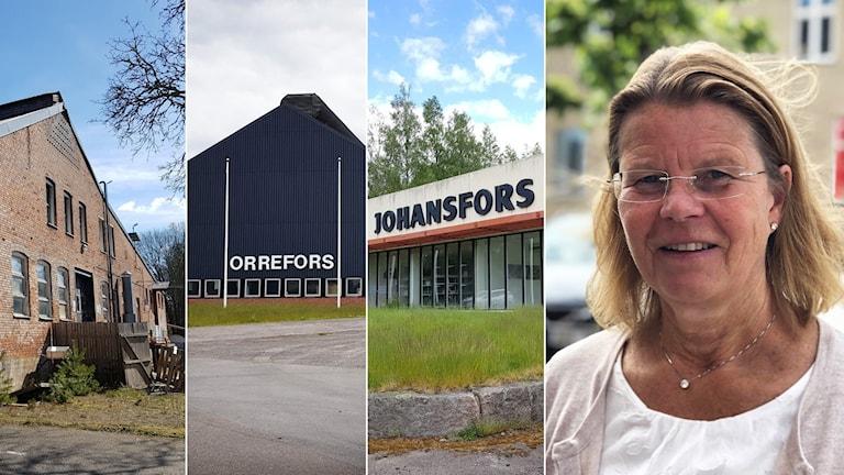 Glasbruk och Åsa Albertsson.