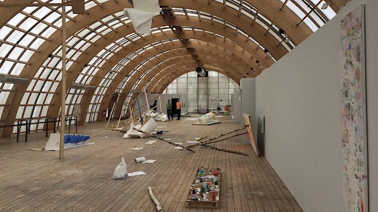 Utställningen Periferin på Virserums konsthall.