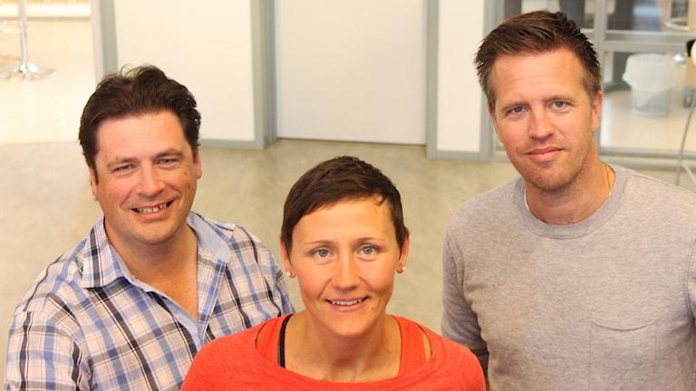 Magnus Krusell, Helena Tinnert, Joachim Lantz