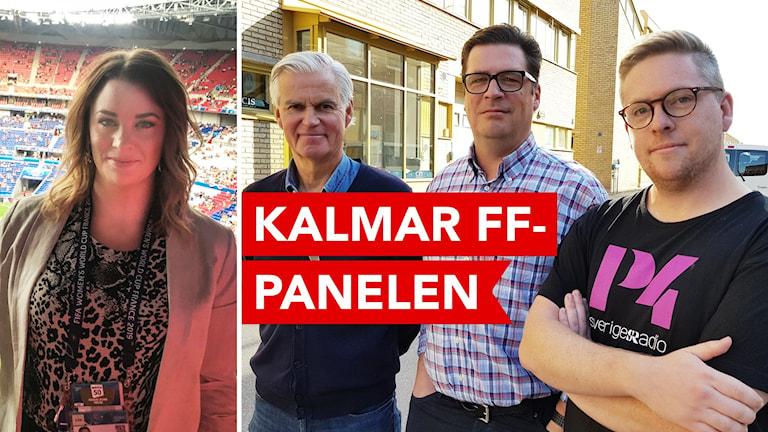 Anna Rydén, Nanne Bergstrand, Magnus Krusell och Viktor Blomberg.