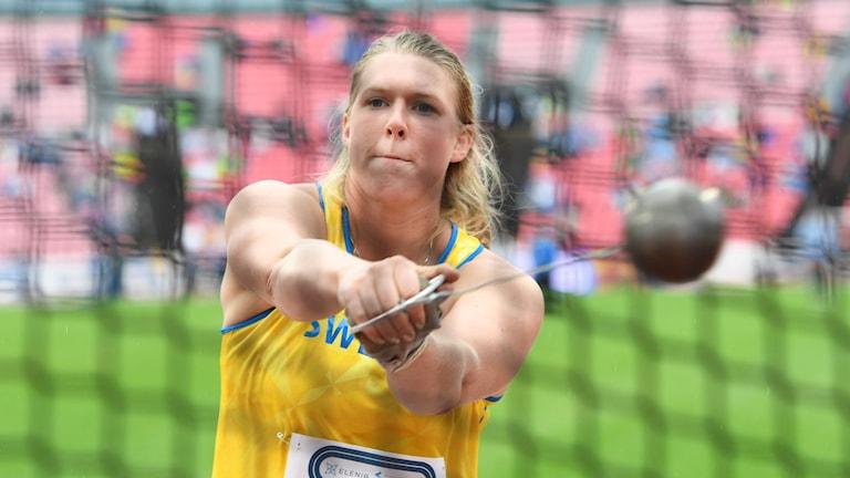 Ida Storm under Finnkampen 2016