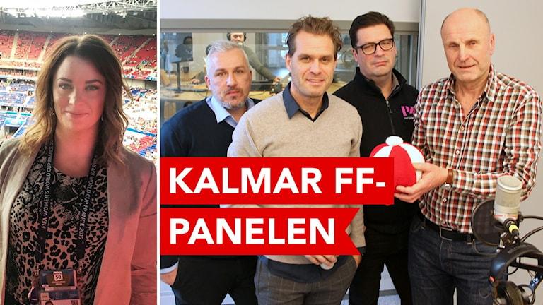 Kalmar FF-panelen.
