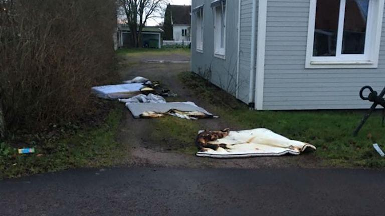 madrasser som brunnit