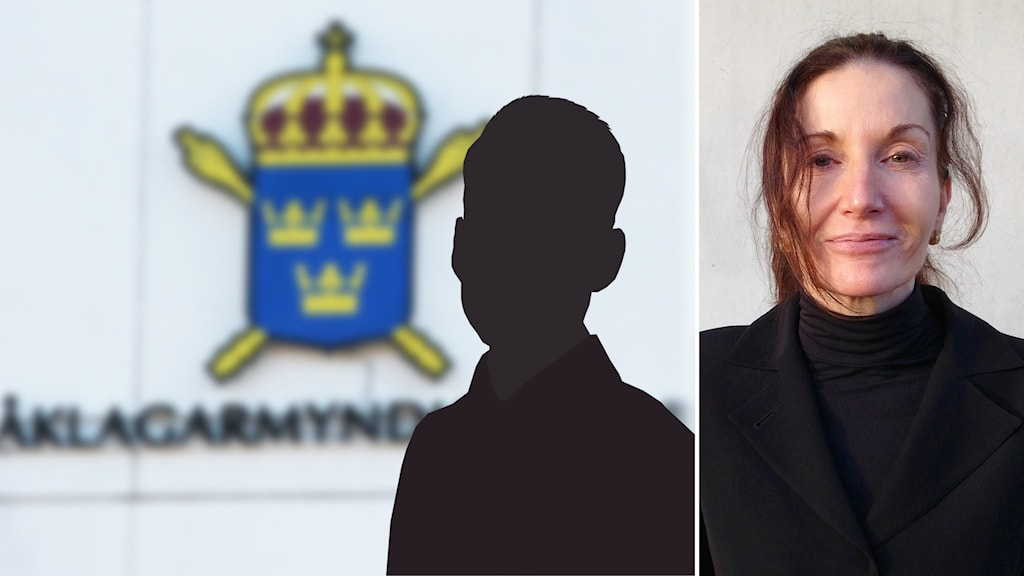 Siluett av man och Kerstin Eriksson.
