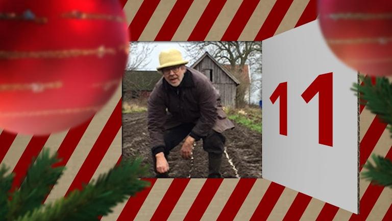 Kenneth Folkemark försöker rannsaka sig själv runt juletid.