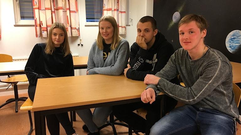 Gymnasieelever Lars Kaggskolan