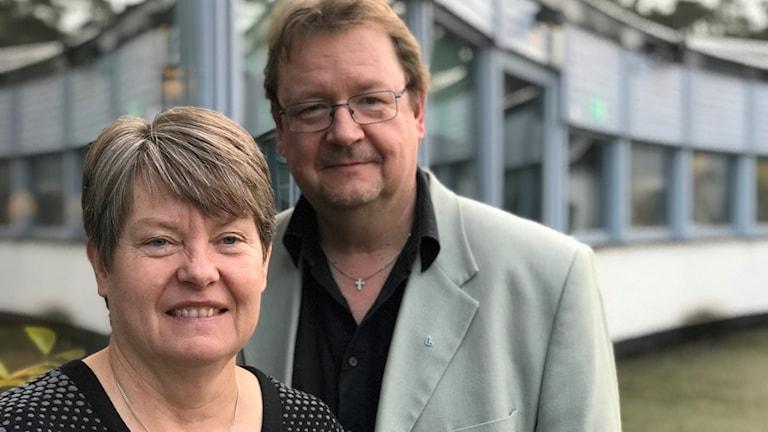 Yvonne Hagberg och Pierre Edström