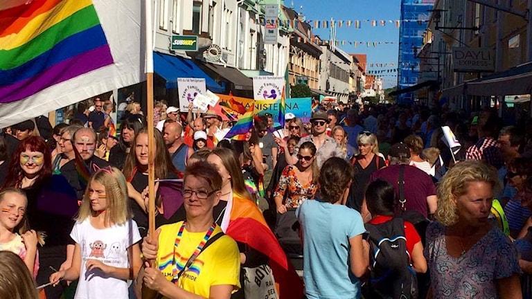 Prideparaden 2016.