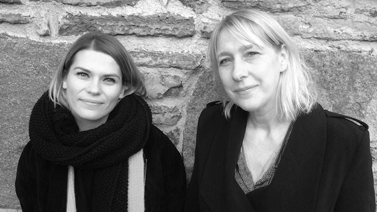 Josipa Pilipovic och Jessica Bergsjö.