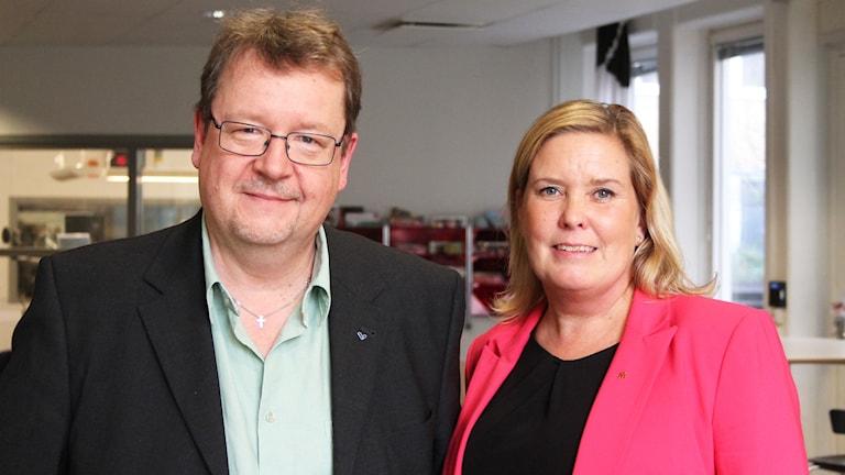 Pierre Edström och Malin Sjölander